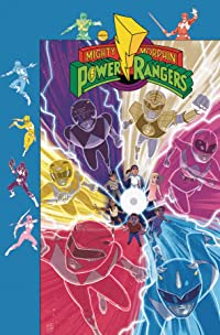 Mighty Morphin Power Rangers #27 Subscription Gibson Var Sg