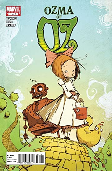 Ozma of Oz #1 (of 8)