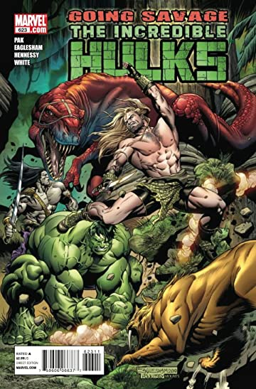 Incredible Hulks #623
