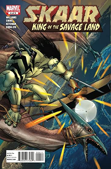 Skaar: King of the Savage Land #4 (of 5)