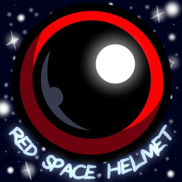RED SPACE HELMET