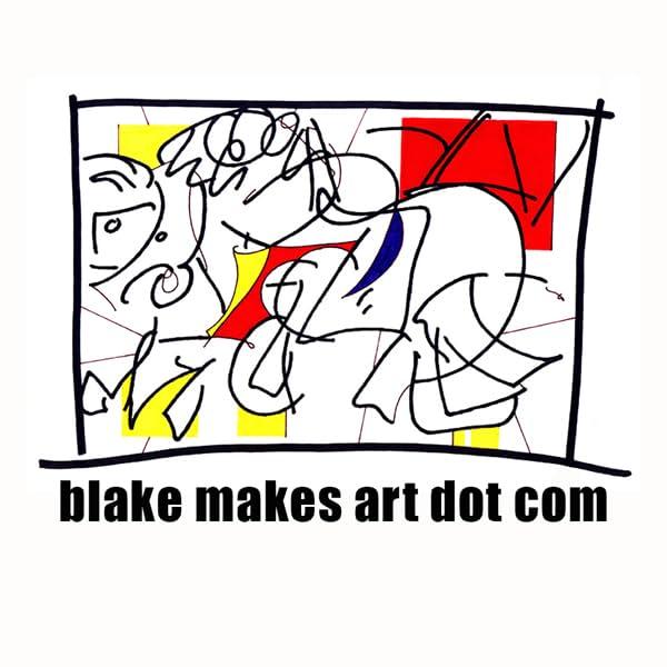 blake makes art