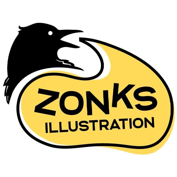 Zonks Illustration