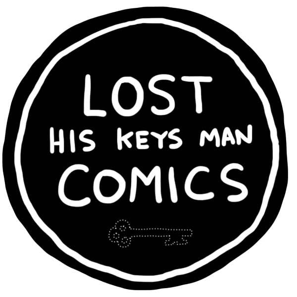 Lost His Keys Man Comics