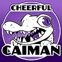 Cheerful Caiman