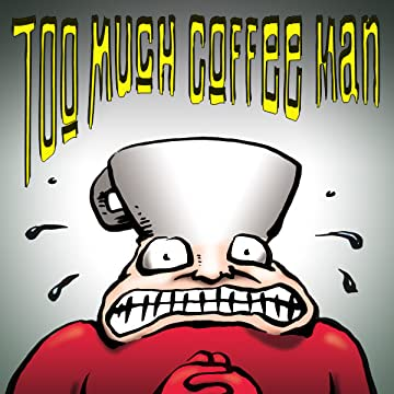 Too Much Coffee Man: comiXology Submit Strips