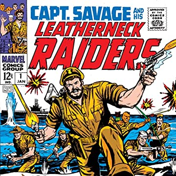 Captain Savage (1968-1970)
