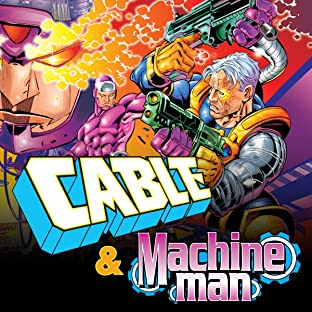 Cable & Machine Man Annual 1998