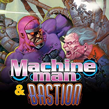 Machine Man & Bastion Annual 1998