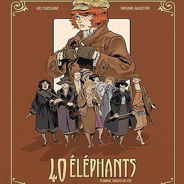 40 éléphants