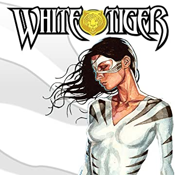 White Tiger Digital Comics Marvel Comics