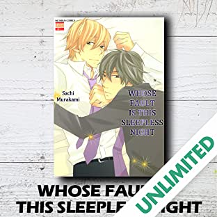 Whose Fault is this Sleepless Night  (Yaoi Manga)