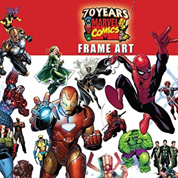 Marvel 70th Anniversary Frame Art (2007)