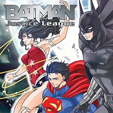 Batman and the Justice League Manga