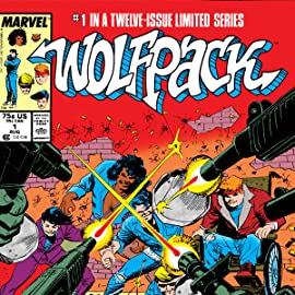 Marvel Graphic Novel: Wolfpack (1987)
