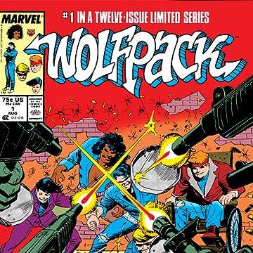 Marvel Graphic Novel: Wolfpack (1987)