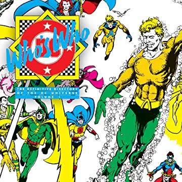Who's Who: The Definitive Directory of the DC Universe (1985-1987)