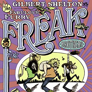 The Freak Brothers and Fat Freddy's Cat