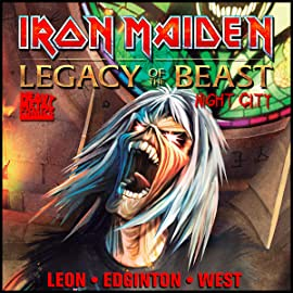 Iron Maiden: Legacy of the Beast - Night City