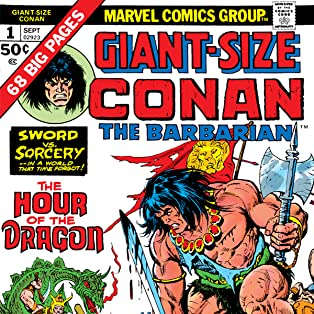 Conan The Barbarian Giant-Size (1974-1975)