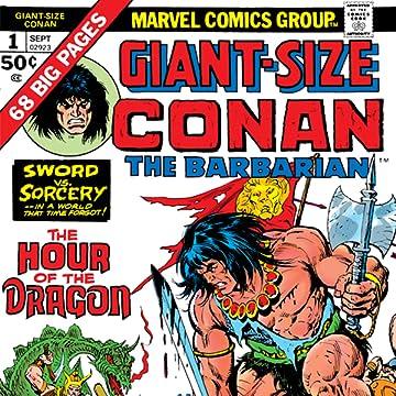 Conan The Barbarian Giant-Size (1974-1975)