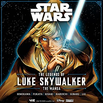 Star Wars: The Legends of Luke Skywalker Manga