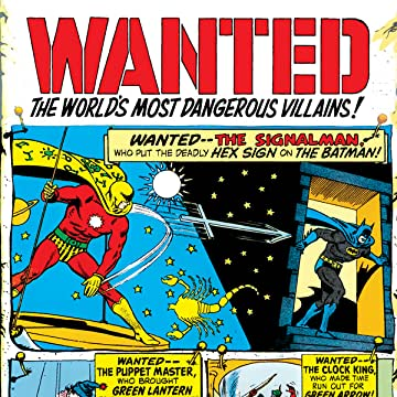 Wanted: The World's Most Dangerous Villains (1972-1973)
