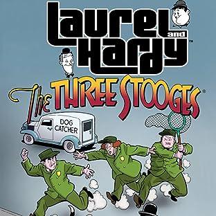 Laurel & Hardey Meet The Three Stooges