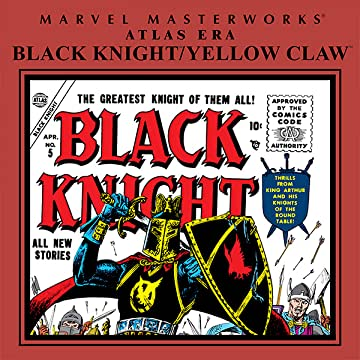 Atlas Era Black Knight/Yellow Claw Masterworks
