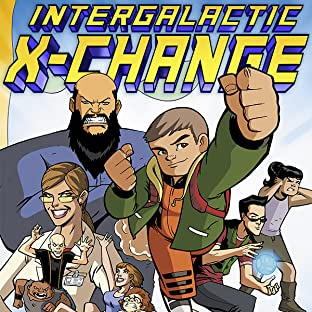 INTERGALACTIC X-CHANGE, Vol. 1: WELCOME TO EARTH