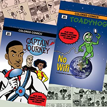 Captain Journey/Toadyhog: Double Feature Special Issue: Colored Comics Presents: Captain Journey & Toadyhog