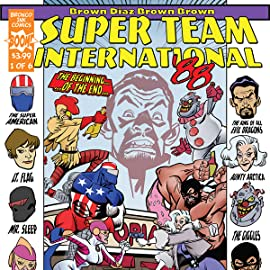 SUPER TEAM INTERNATIONAL '88, Tome 1