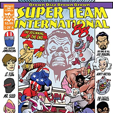 SUPER TEAM INTERNATIONAL '88