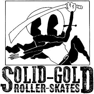 Solid-Gold Roller-Skates