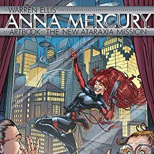 Anna Mercury Artbook, Vol. 1