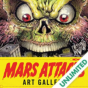 Mars Attacks Art Gallery