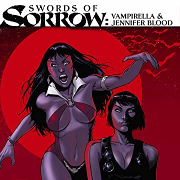 Swords of Sorrow: Vampirella & Jennifer Blood