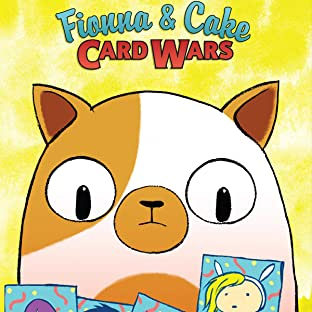 Adventure Time Fionna & Cake Card Wars