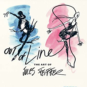 Out of Line Art Jules Feiffer