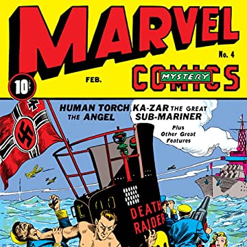 Marvel Mystery Comics (1939-1949)