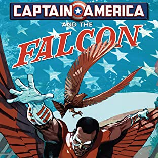 Captain America and Falcon