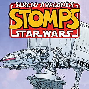 Sergio Aragonés Stomps Star Wars