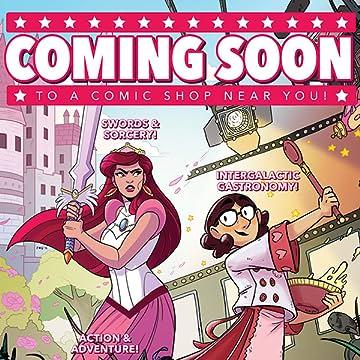 Coming Soon to a Comic Shop Near You