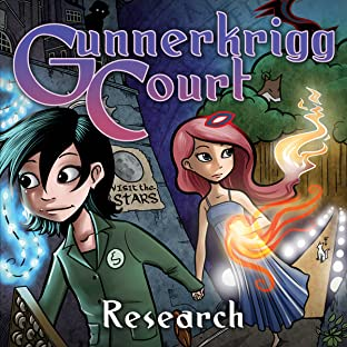 Gunnerkrigg Court Vol. 2: Research