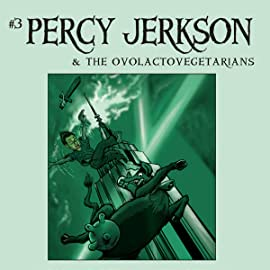 Papercutz Slices, Vol. 3: Percy & Ovolactovegetarians