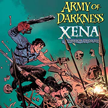 Army of Darkness - Xena - Crossover Comic Book Cover