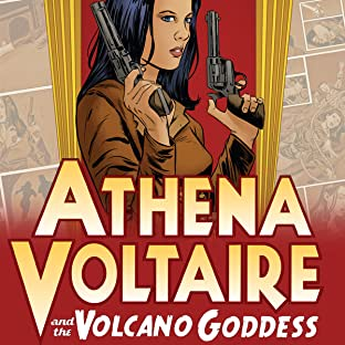 Athena Voltaire and the Volcano Goddess