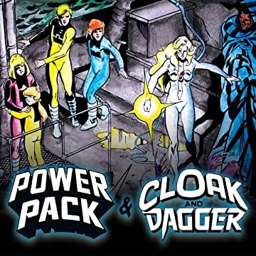 Power Pack & Cloak and Dagger: Shelter From The Storm