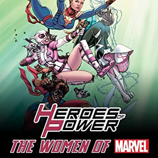 Heroes of Power: The Women of Marvel - All-New Marvel Treasury Edition