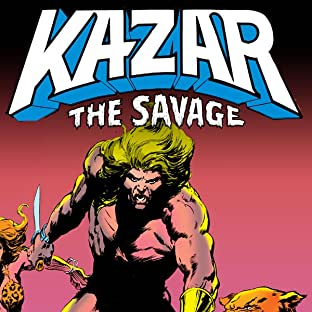 Ka-Zar The Savage (1981-1984)